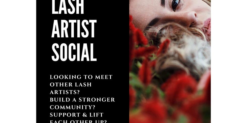 Grande Prairies FIRST Lash Artist Social