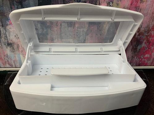 Tweezer sterilization tray