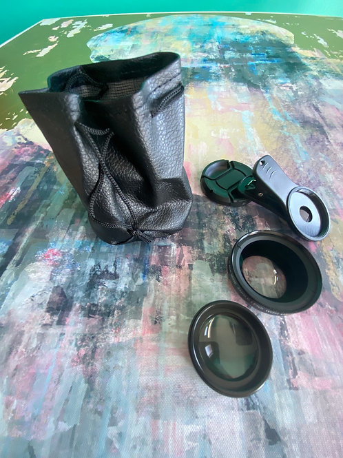 Macro & Wide angle Lens for PHONES