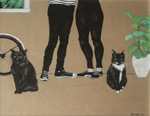 A family portrait   by Belle Formica