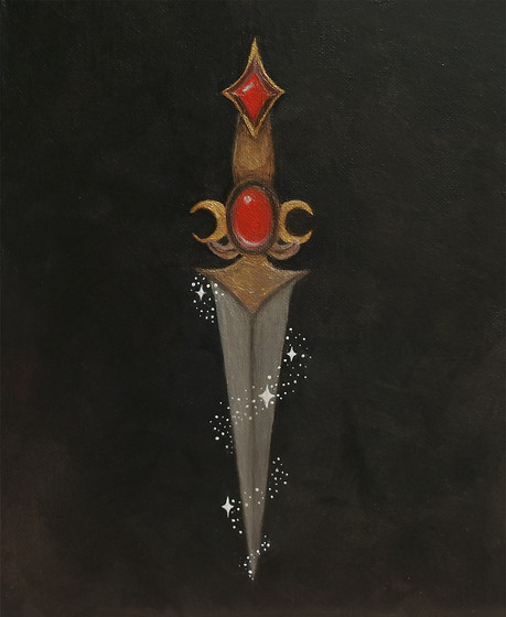 Magic Dagger | by Belle Formica