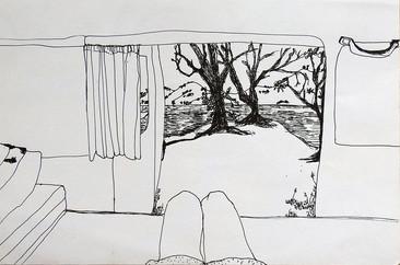 Vanlife sketch | by Belle Formica