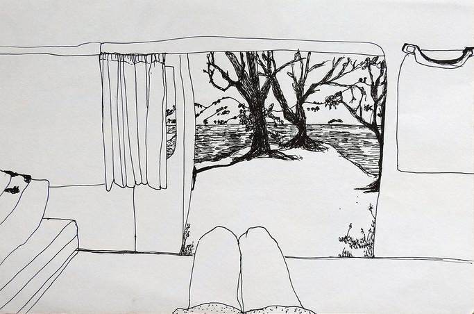 Vanlife sketch   by Belle Formica