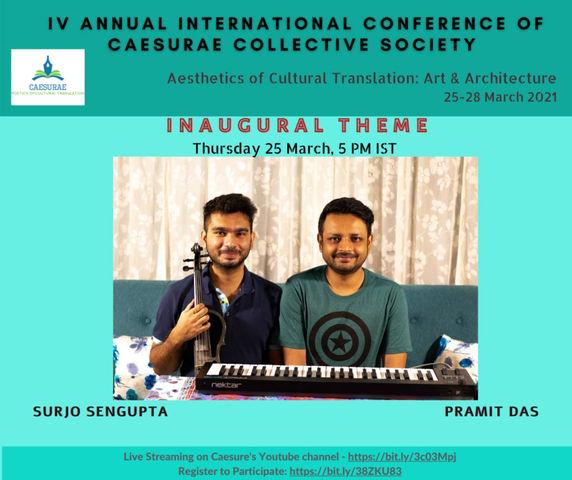 Caesurae International Conference, 25-28 March 2021