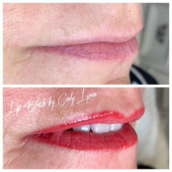 Lip Blush 👄 #beforeandafter #lipblushby