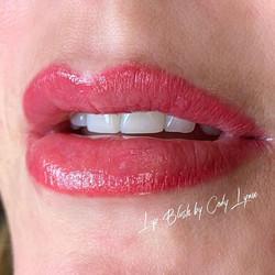 Semi-permanent Lip Blush 👄 Will heal ab