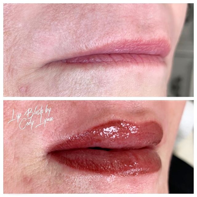 Semi-permanent Lip Blush 👄 Will soften