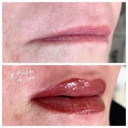 Semi-permanent Lip Blush 👄 Will soften