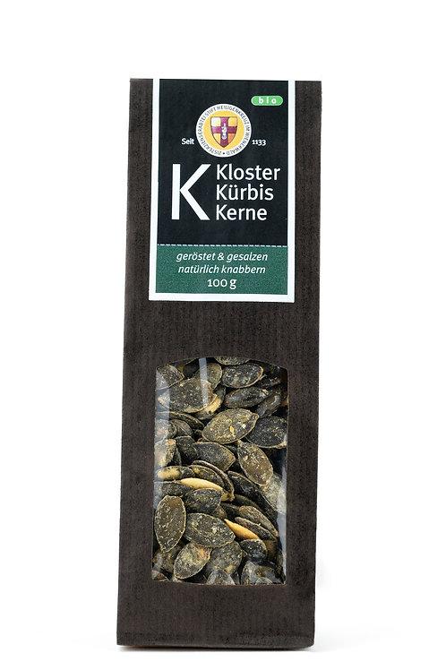 Geröstete Kürbiskerne mit Salz