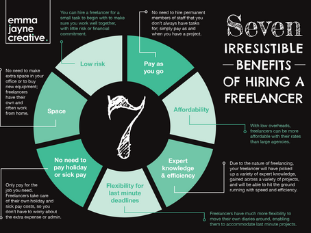 The 7 irresistible benefits of hiring a freelancer