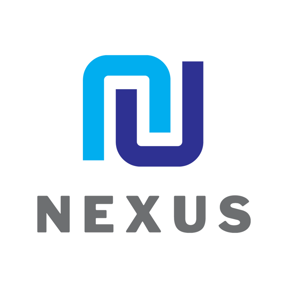 The new logo and branding for Bristol based Nexus, designed by emma jayne creative, design agency located in Weston-super-Mare