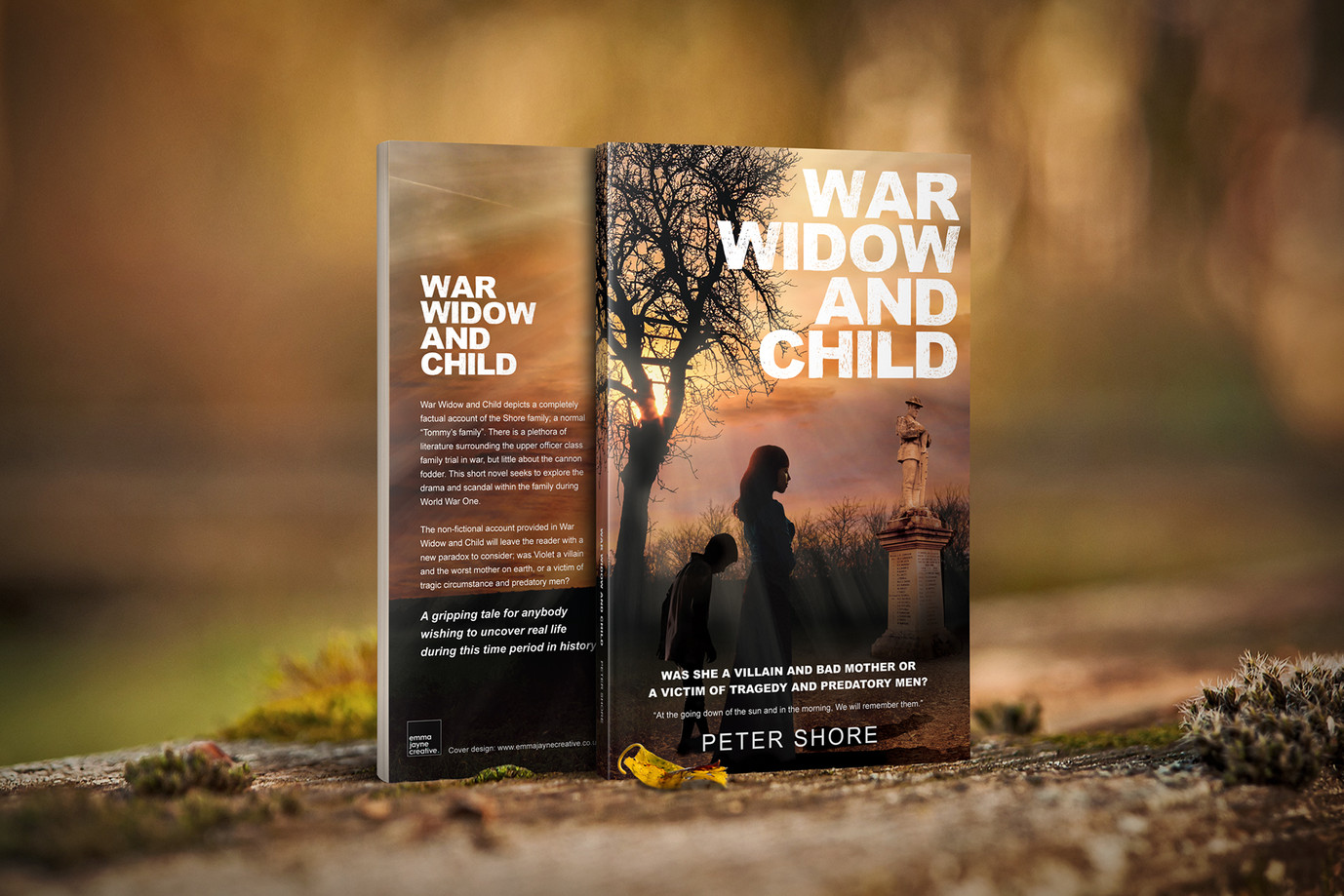 Book Cover for War Widow and Child