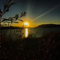 Sunset in Big Bear Photography by Virginia Crowe