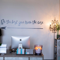 Freehand Lettering Wall Mural