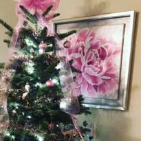 Acrylic Peony Painting Virginia Crowe