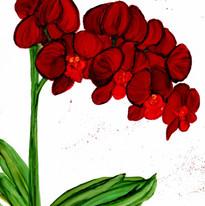 Alcohol Ink Flower Virginia Crowe