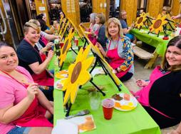 Indoor Paint Party