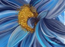 Digital Flower by Virginia Crowe using Procreate