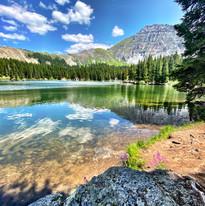 Alta Lakes near Telluride Colorado.   Photography by Virginia Crowe