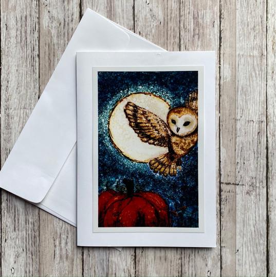 Harvest Moon Owl