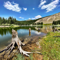 Alta Lakes near Telluride, CO Photography by Virginia Crowe