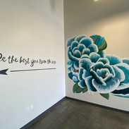 Lettering Wall Mural