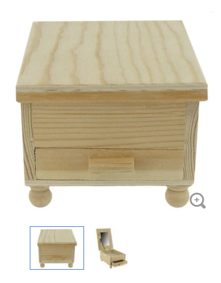 Little jewel box