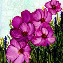 Alcohol Ink Floral Virginia Crowe