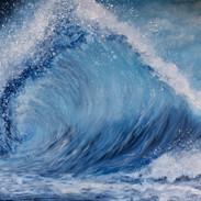 30x40 acrylic wave