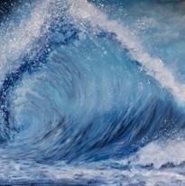 Acrylic Ocean Wave Art Virginia Crowe