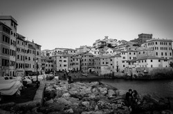 Boccadasse, Genoa, Italty