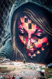 Mural in Johannesburg, South Africa