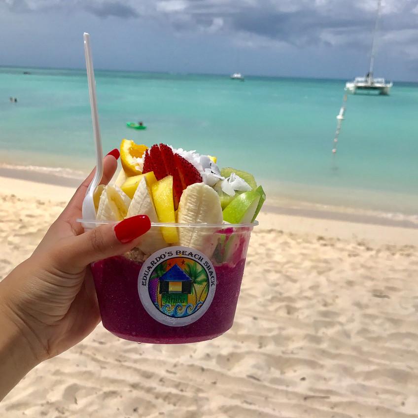 Smoothie bowl Eduardos Aruba