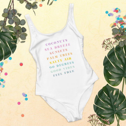 Summer Things One-Piece Swimsuit