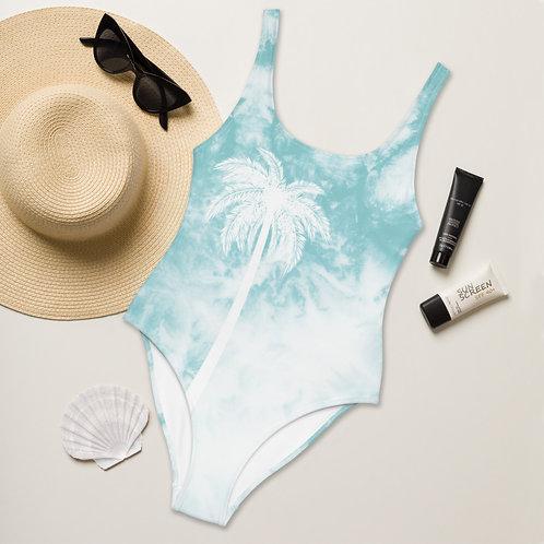 Tie Dye One-Piece Swimsuit