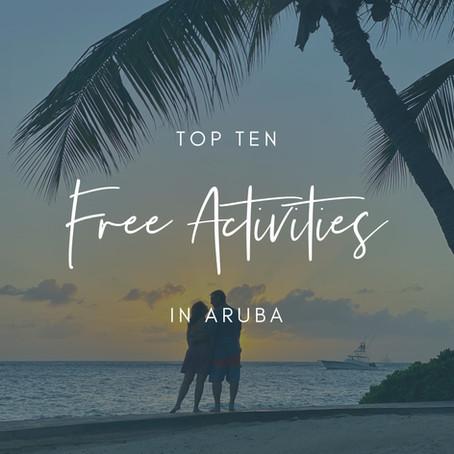 Top 10 Free Activities in Aruba