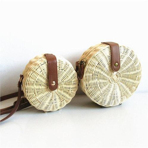 Handmade Rattan Summer Boho Bag