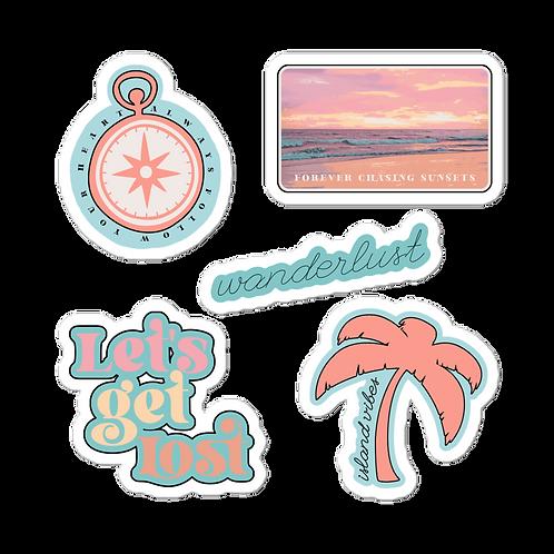 Wanderlust Sticker Pack