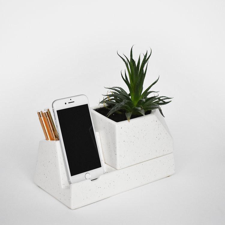 Planter Phone Dock