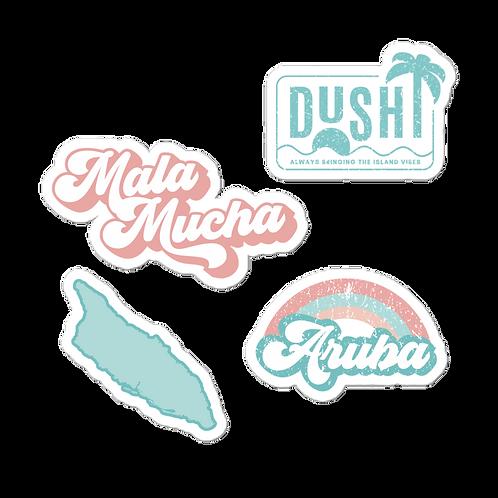 Dushi Aruba Sticker Pack
