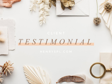 Client Testimonial: Van Damme Wedding
