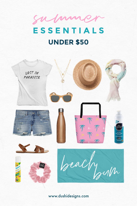 Summer Essentials Under $50