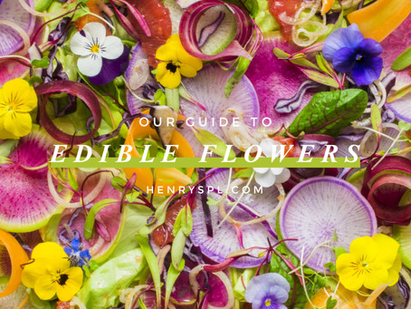 Our Guide To Edible Flowers