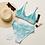 Thumbnail: Tie Dye Recycled Bikini Top