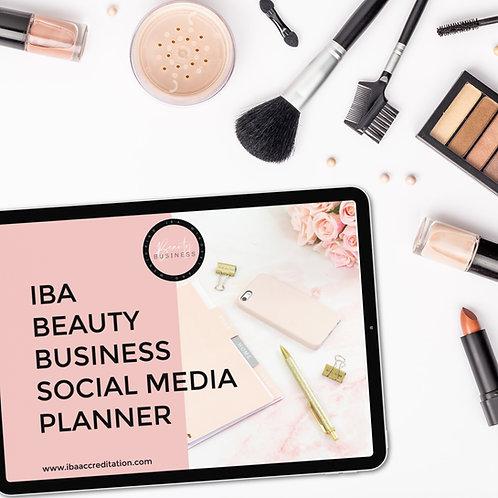 Beauty Business Social Planner