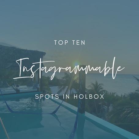 Top Ten Instagrammable Spots in Holbox