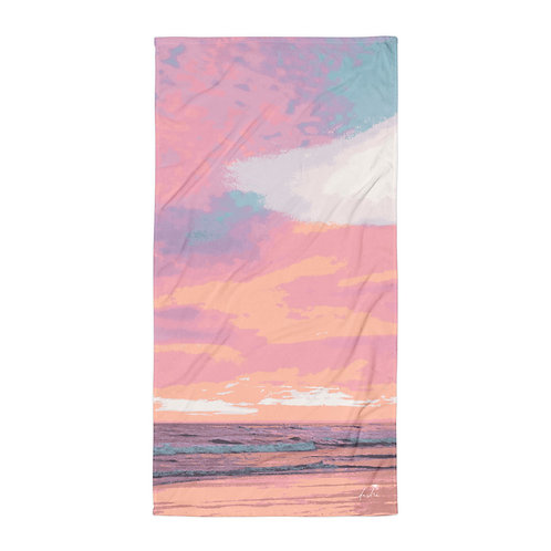 Chasing Sunsets Beach Towel