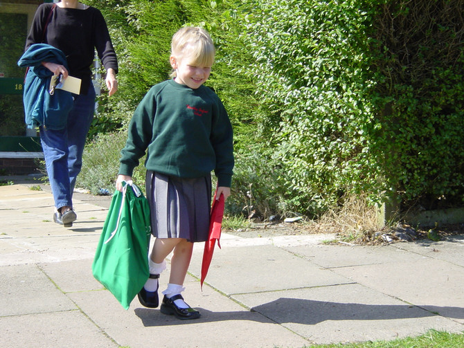 How can I survive my child starting school?
