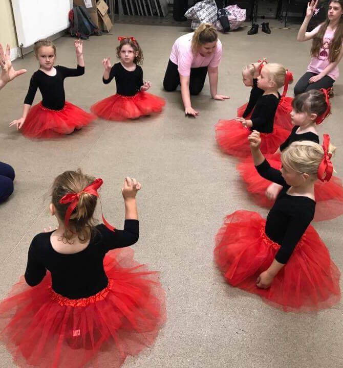 Four benefits from your toddler taking dance lessons.