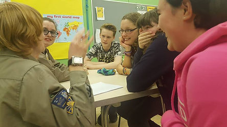 Explorer Scouts Birmingham Laughing